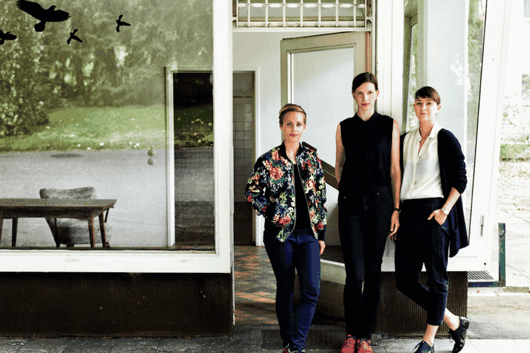 Katharina Beckmann, Stefanie Gerke and Nele Heinevetter, the women behind Niche