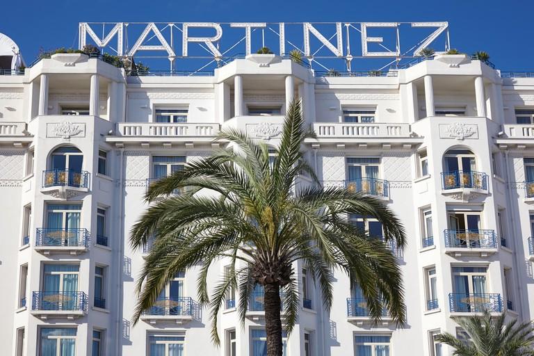 Hôtel Martinez facade