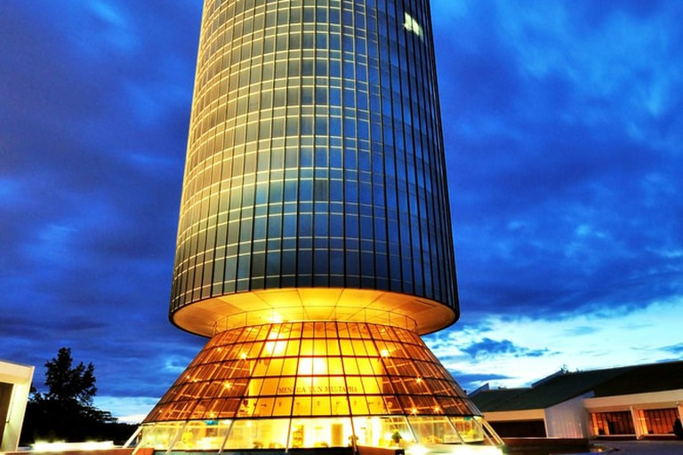 Tun Mustapha Tower in Kota Kinabalu, Malaysia