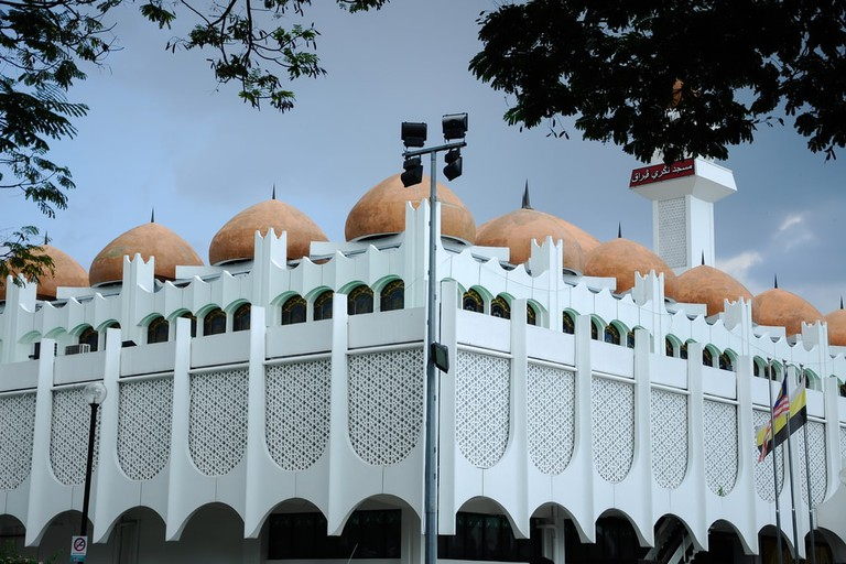 Perak State Mosque in Ipoh, Malaysia