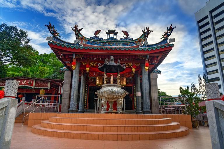 Tua Pek Kong Chinese Temple in Kuching, Malaysia