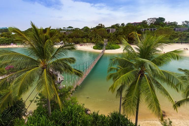 Palawan island, Sentosa, Singapore