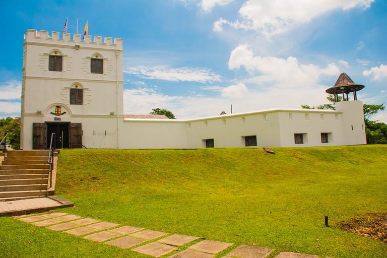 Fort Margherita in Kuching, Malaysia