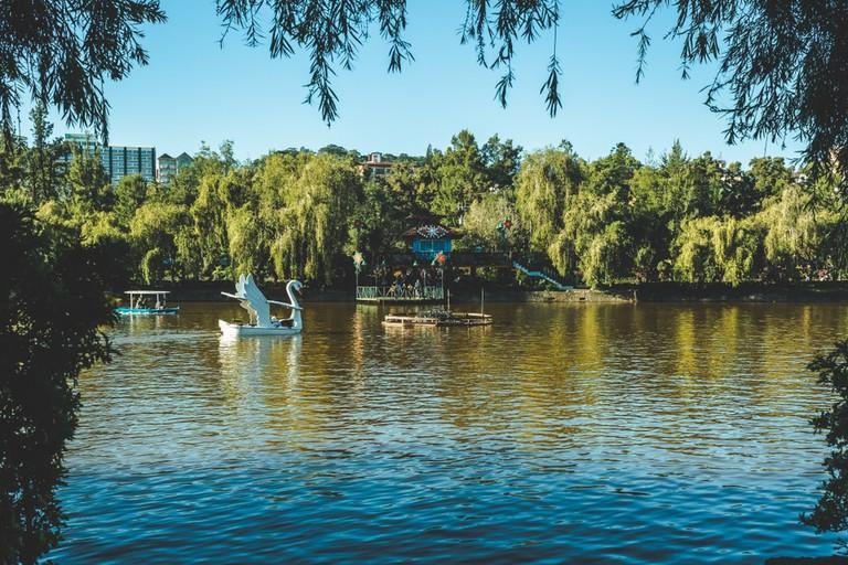 Lake View Burnham Park, Baguio City, Philippines