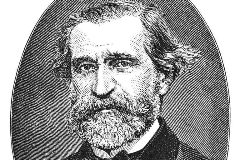 Giuseppe Verdi (1813-1901), engraving from Harper's Monthly Magazine December 1876 | Shutterstock/Stocksnapper