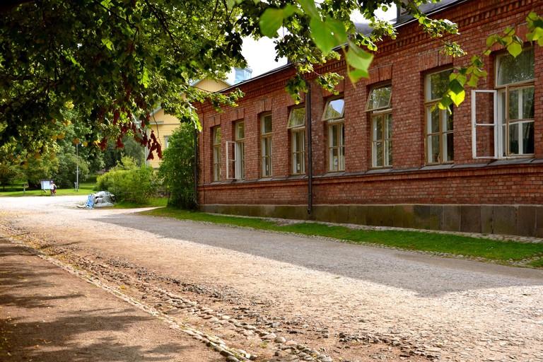 A dream location for a hostel at Suomenlinna, Helsinki.