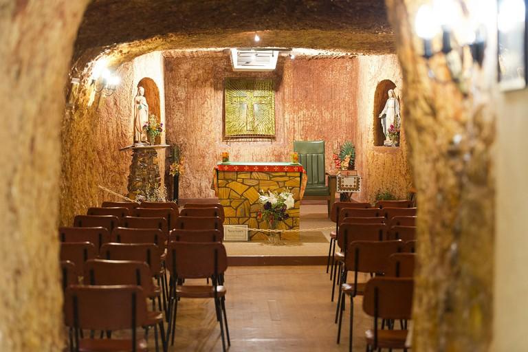 St Paul's underground church in Coober Pedy © Steve Collis / Flickr