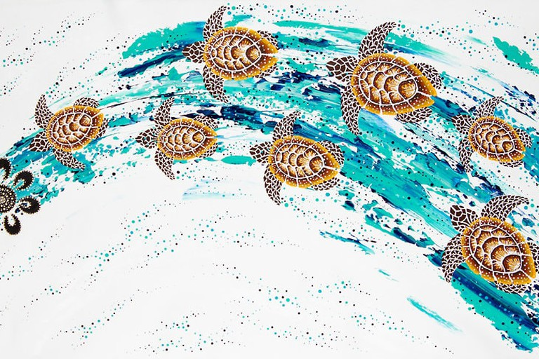 Turtle Song Cycle by Anthony Walker © Spirit Gallery