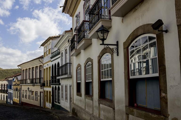 Bars Ouro Preto, Brazil.