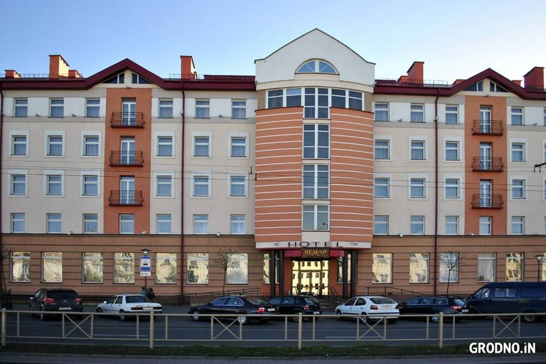 The front of the Hotel Neman   © Hotel Neman