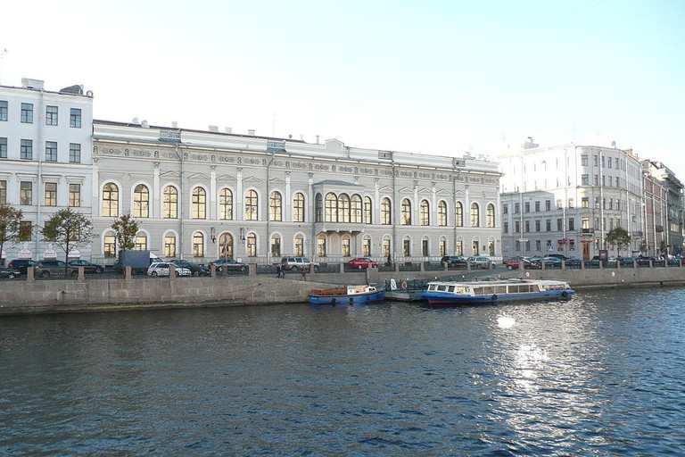 Shuvalov Palace - now home of the Faberge Museum