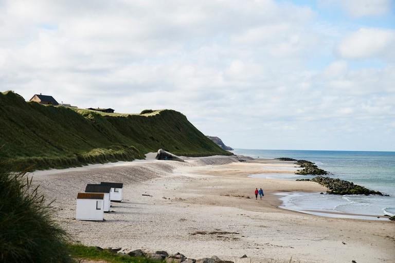 Lønstrup-Beach-Strand-Denmark