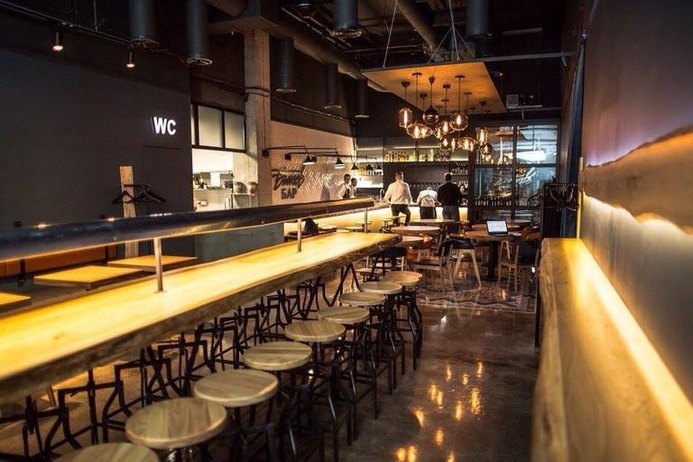 Modern interior at Bykow Bar, Kaliningrad | © Bykow Bar