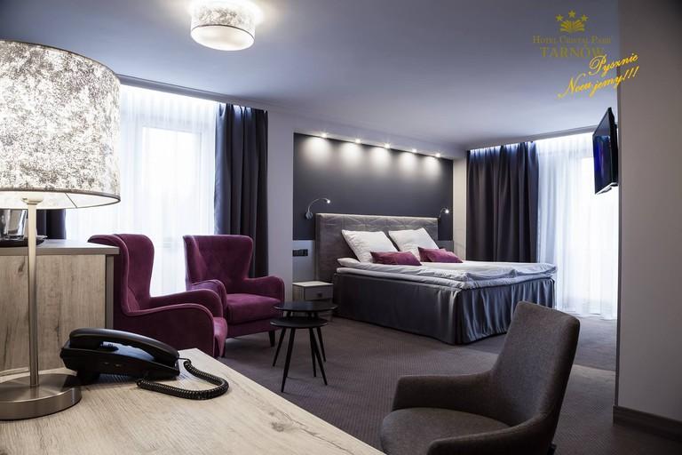Luxury rooms at Hotel Cristal Park | © Hotel Cristal Park / Daniel Redish