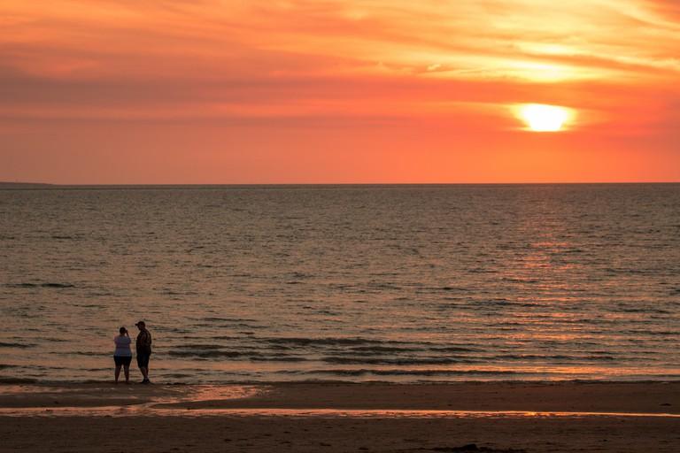 Mindil Beach's stunning sunsets