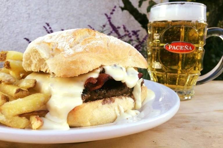 hamburger la paz bolivia