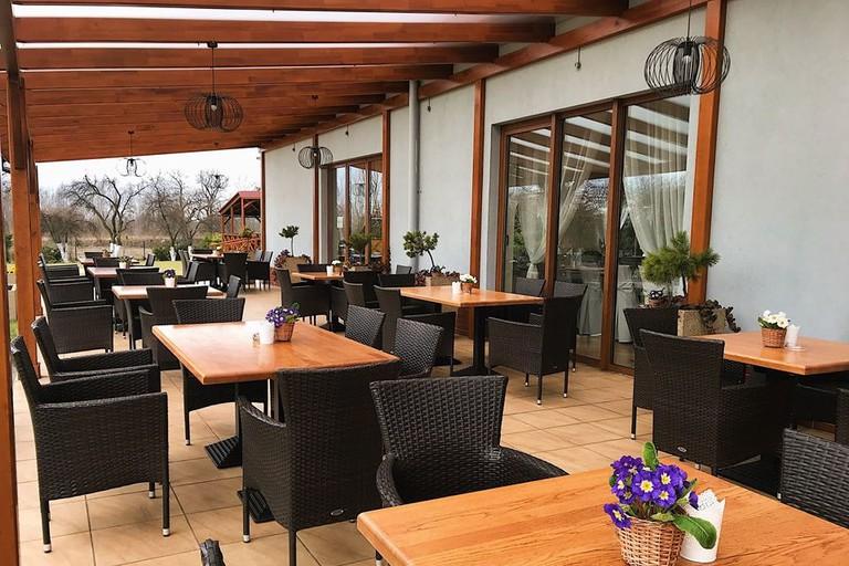 Zielony Ogród's excellent restaurant patio | © Zielony Ogród