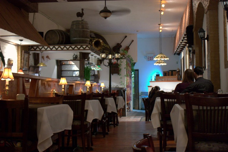Urubamba is one of the Jackson Heights restaurants that specialize in Peruvian food.