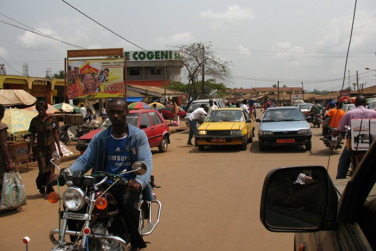 Market days are busy in Kumba town