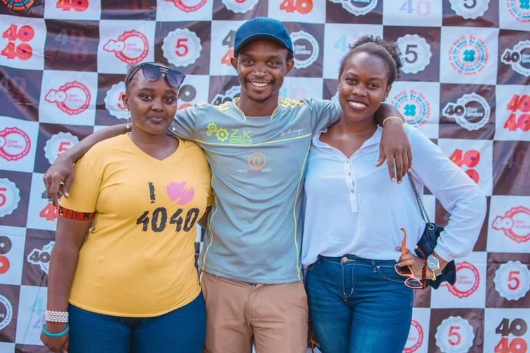 40 Days Over 40 Smiles volunteers