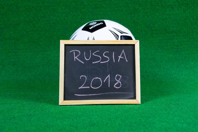 FIFA 2018 hosted by Russia