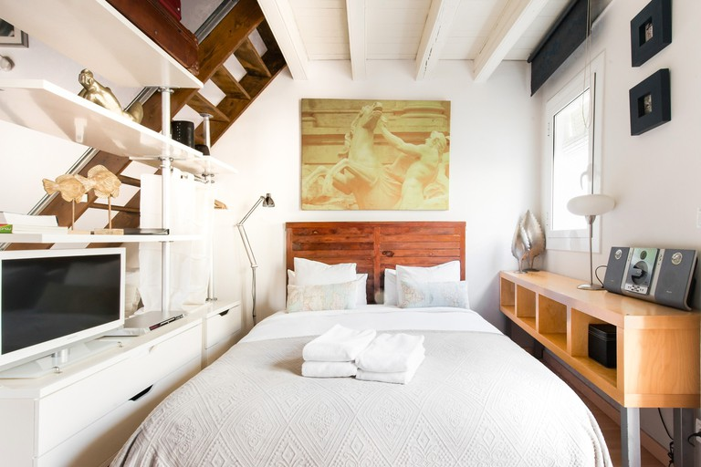 This 130-year-old loft-style studio is the perfect Barcelona base
