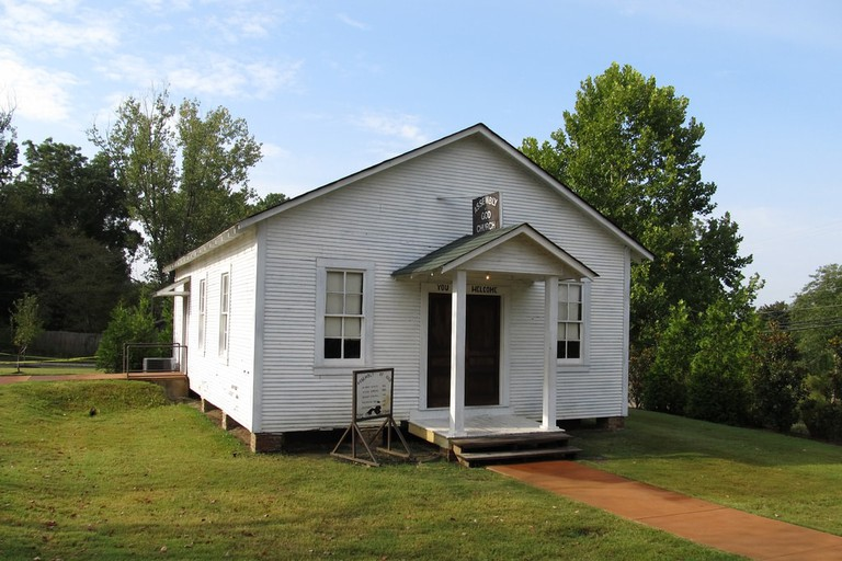 The home where Elvis was born