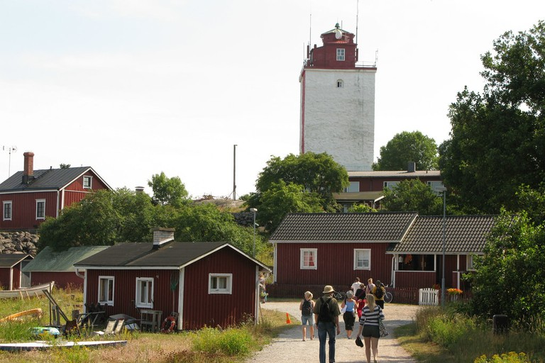 Utö Lighthouse in Finland.