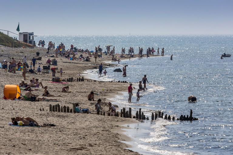 Rågeleje Strand Beaches Denmark