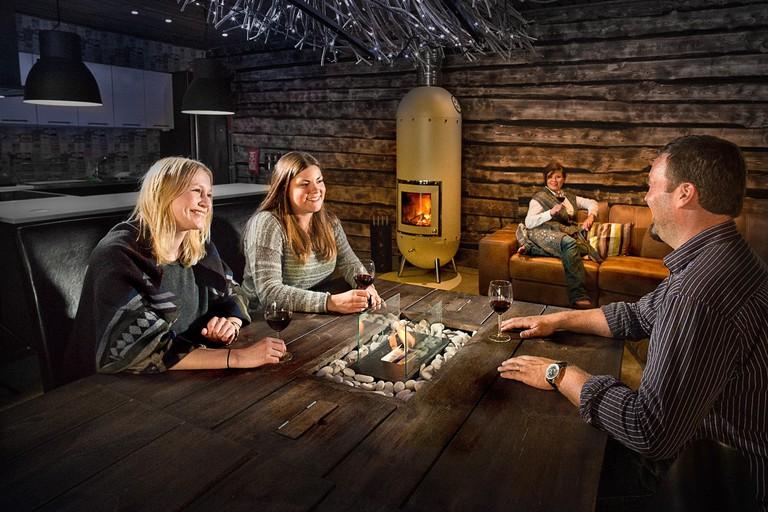 Arctic Forest Spa Sauna lounge