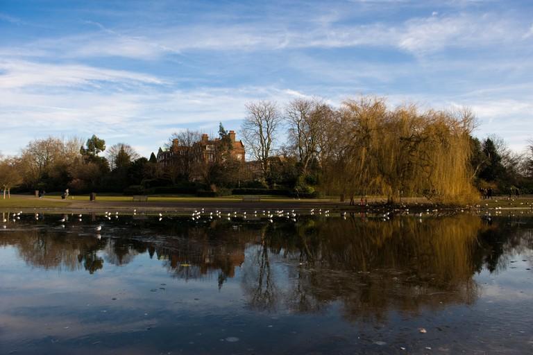 Regents Park in Winter
