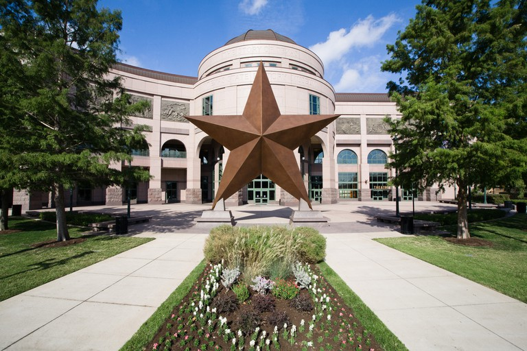 The Bullock Texas State History Museum tells the story of the area's past, present and future