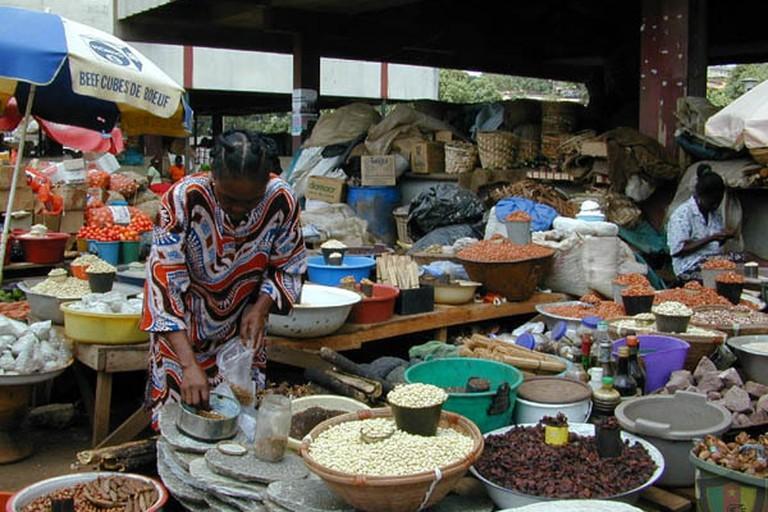 Mfoundi market in Yaoundé