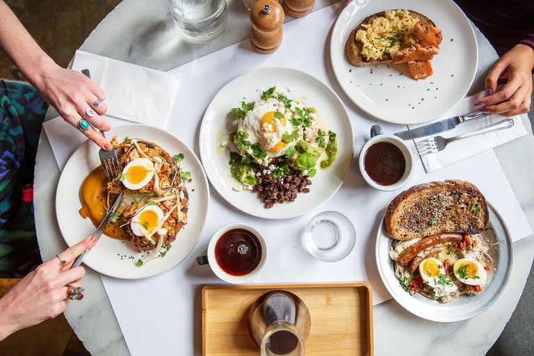 Caravan offers a variety of flavourful brunch options