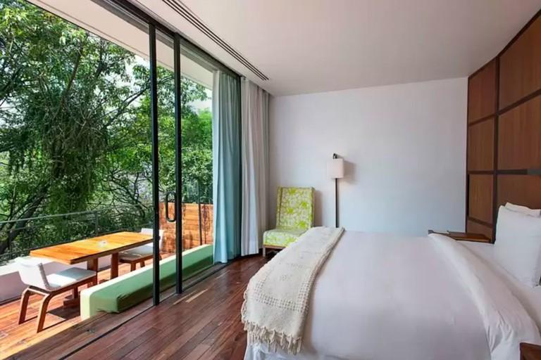 Condesa DF overlooks Parque España