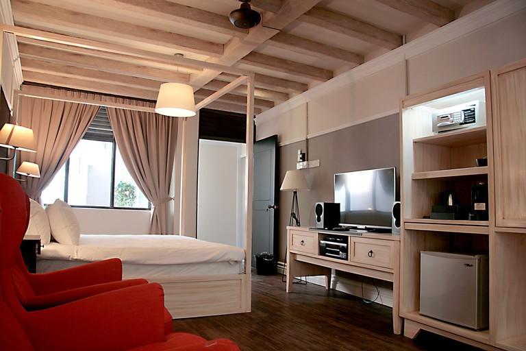 Interior of Contemporary Heritage Suite