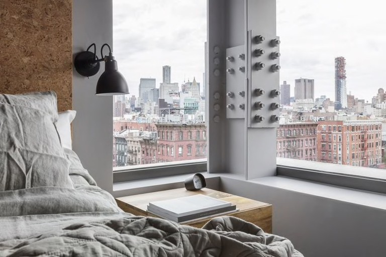 Sago Hotel features modern, minimalist aesthetics at one of the best hotels on the Lower East Side.