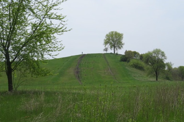 Sled Hill at Oakhurst Forest Preserve