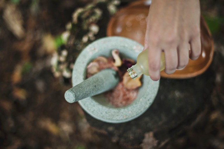 Herbalism is the foundation of Naturopathica's beauty ethos