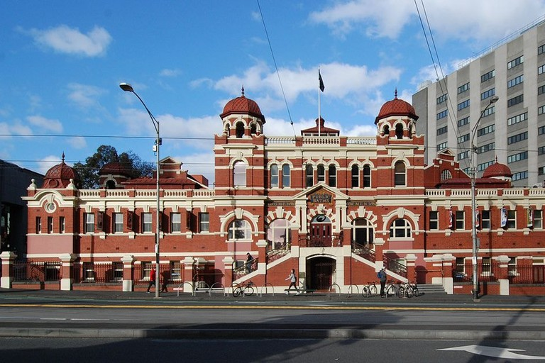 The historic Melbourne City Baths
