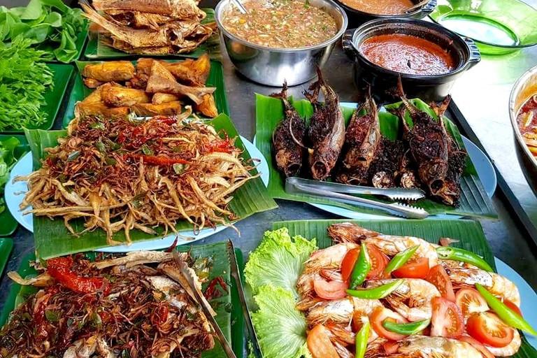 Dishes at Minah Restaurant