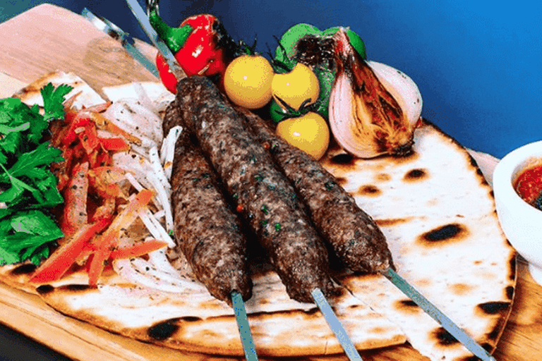 Lots of Arabic cuisine accompanies the games
