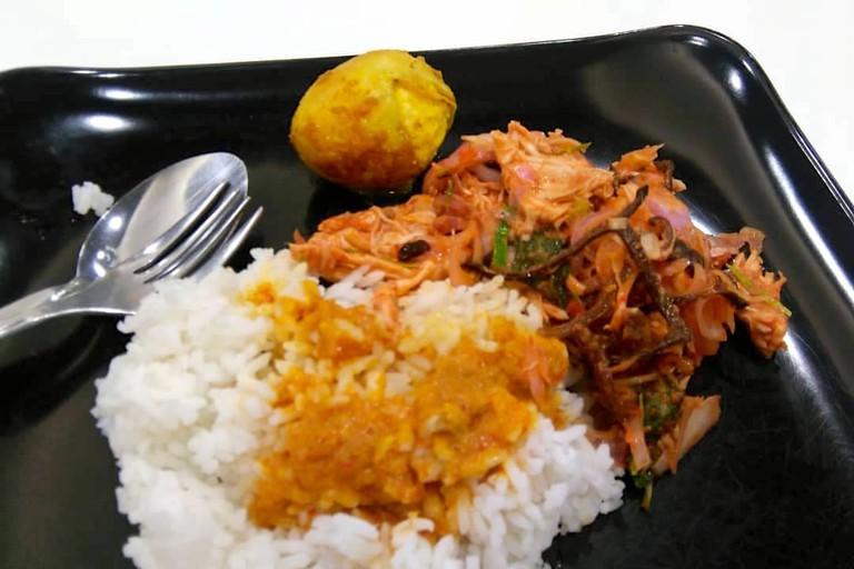 Nyonya Homecooked at Tesco food court