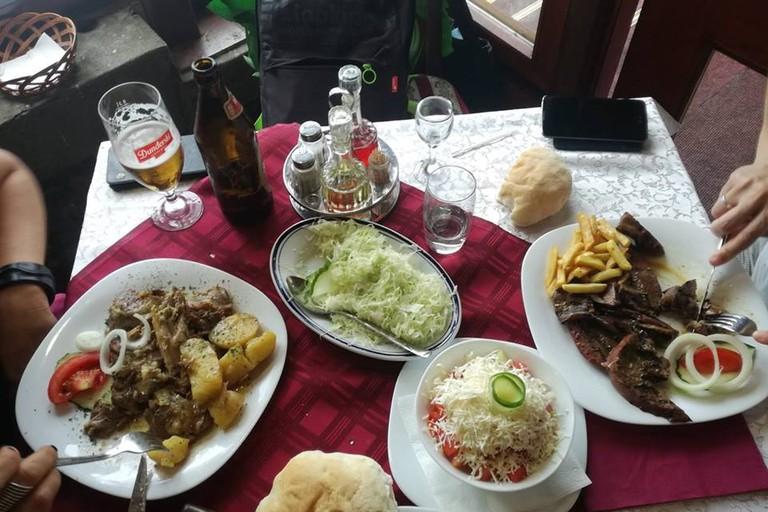 Plenty of meat on the menu at Paligorić