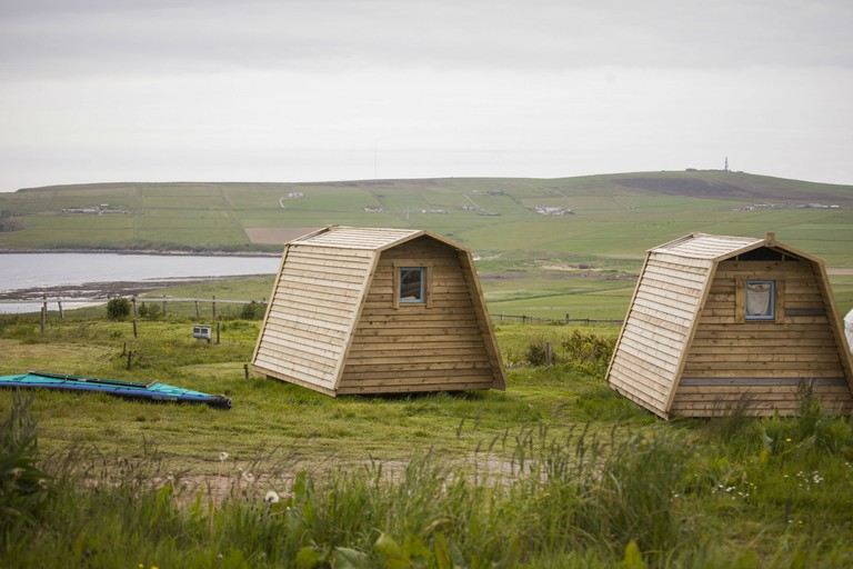 Wheems Organic Farm Camping Pods And Campsite, Orkney