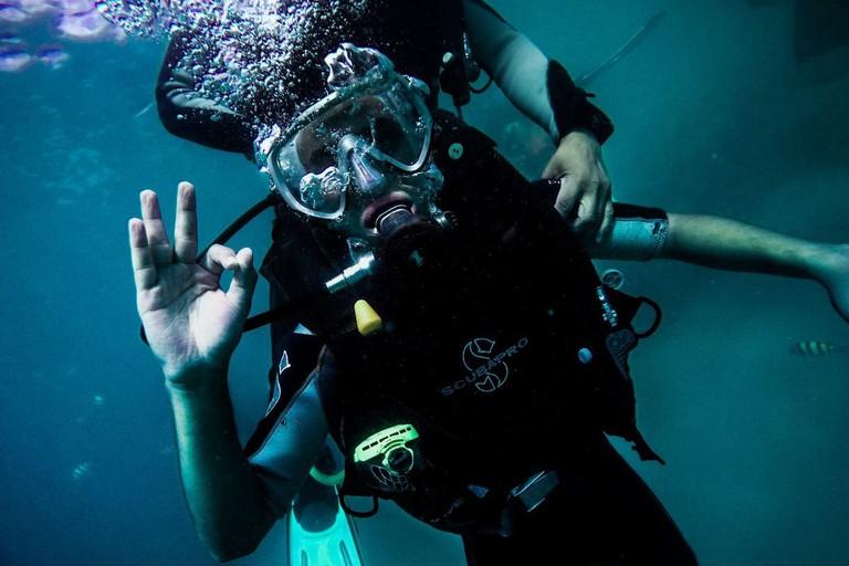 diving school perhentian island