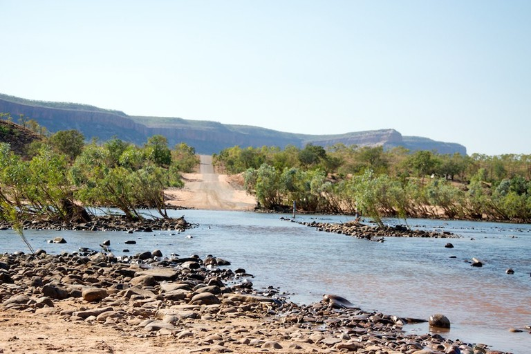River crossing on the Gibb River Road © Jon Connell / Flickr