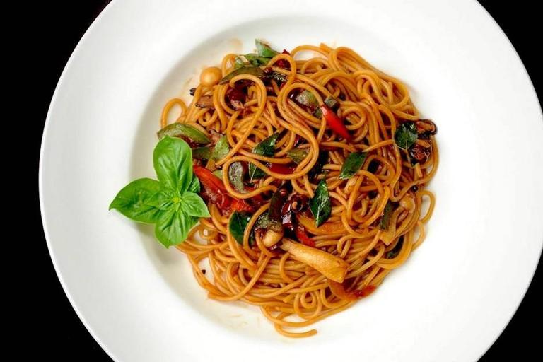Pasta at Seed Natural Food Cafe pasta