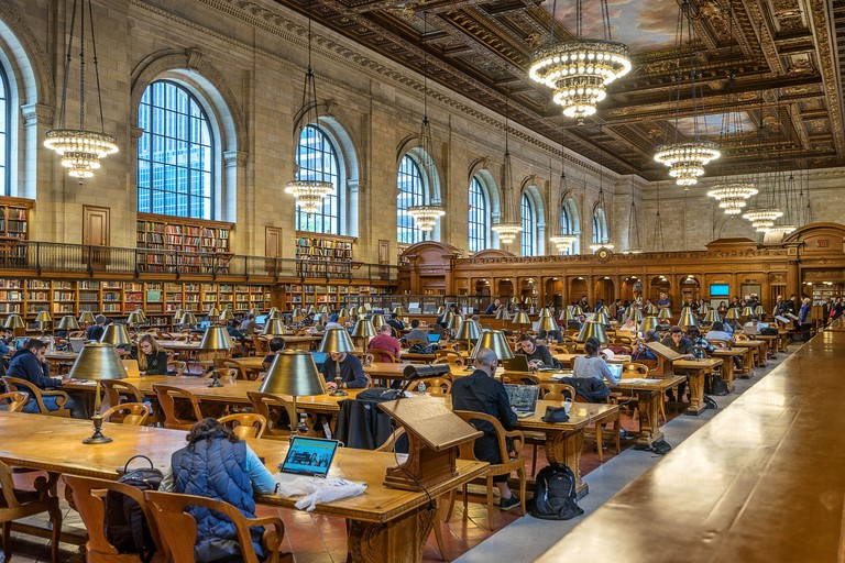 The New York Public Library is the 2nd largest public library in the US and 3rd largest in the world.