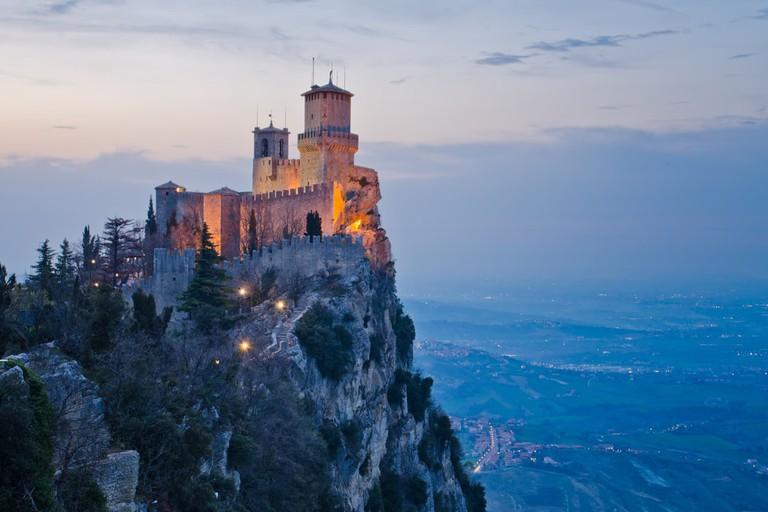 Rocca della Guaita, a castle in the Republic of San Marino